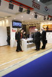 Exposição internacional MosBuild 2011 Imagem de Stock Royalty Free