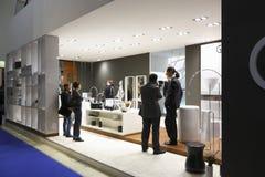 Exposição internacional MosBuild 2011 Fotografia de Stock