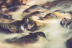 Exposição longa da água fotografia de stock royalty free