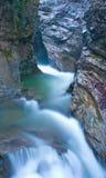 Exposição longa da cachoeira para alisar e amaciar a água Fotografia de Stock Royalty Free