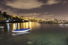 Exposição longa de Nápoles Imagem de Stock Royalty Free