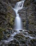 Exposição longa de uma cachoeira Imagem de Stock