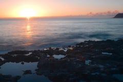 Exposição longa havaiana Fotos de Stock Royalty Free