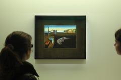 Exposição no centro de Pompidou, Paris de Salvador Dali Imagens de Stock