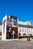Exposição no palácio presidencial Fotografia de Stock Royalty Free