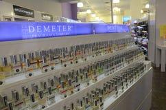 Exposição NYC da biblioteca da fragrância do Demeter Imagem de Stock