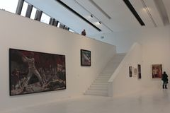 Exposição o mito soviético no museu de Drents em Assen Imagens de Stock