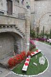 Exposição San Pellegrino em Fiore em Viterbo - Itália Fotografia de Stock Royalty Free