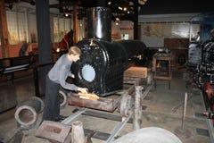 Exposição simulada de Glover Machine Works Imagem de Stock Royalty Free