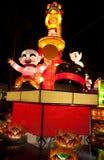 Exposição temático lunar 2011 da lanterna do ano novo Fotografia de Stock
