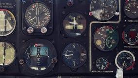 Exposições dos aviões Fotografia de Stock