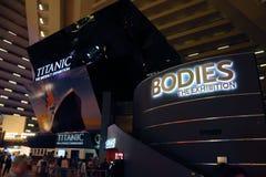 Exposições Las Vegas Fotografia de Stock Royalty Free