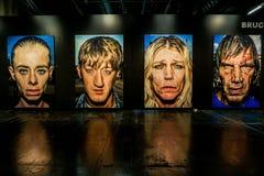 Exposi??o dos retratos de Bruce Gilden no Photokina foto de stock royalty free