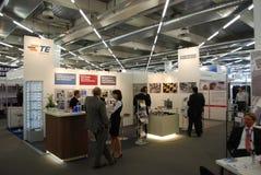 Exposición 2012 de Europa de la aviónica Imagen de archivo libre de regalías