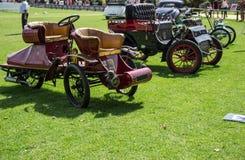 Exposición clásica de los coches Imagen de archivo libre de regalías