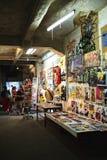 Exposición de arte del arte en Kunsthaus Tacheles Fotografía de archivo libre de regalías