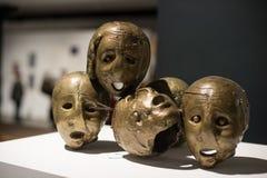 Exposición de arte griega 20 - siglo 21 Imagen de archivo