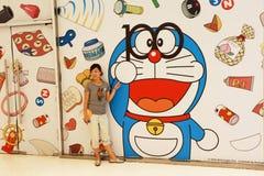 Exposición de Doraemon Imágenes de archivo libres de regalías