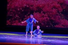 Exposición de enseñanza de clasificación Jiangxi del logro de los niños de la prueba de la academia de la danza de Pekín de la ch imagen de archivo libre de regalías