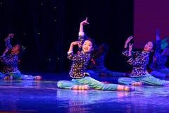 Exposición de enseñanza de clasificación Jiangxi del logro de los niños de la prueba de la academia de la danza de Pekín de la ch imagenes de archivo