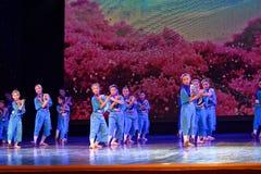 Exposición de enseñanza de clasificación Jiangxi del logro de los niños de la prueba de la academia de la danza de Pekín de la ch foto de archivo