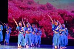Exposición de enseñanza de clasificación Jiangxi del logro de los niños de la prueba de la academia de la danza de Pekín de la ch fotografía de archivo libre de regalías