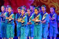 Exposición de enseñanza de clasificación Jiangxi del logro de los niños de la prueba de la academia de la danza de Pekín de la ch fotos de archivo