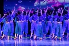 Exposición de enseñanza de clasificación Jiangxi del logro de los niños de la prueba de la academia de la danza de Pekín de la ch imágenes de archivo libres de regalías