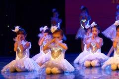 Exposición de enseñanza de clasificación Jiangxi del logro de los niños de la prueba de la academia de la danza de Pekín del niño fotos de archivo libres de regalías