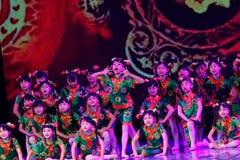 Exposición de enseñanza de clasificación Jiangxi del logro de los niños de la prueba de la academia de la danza de Pekín de los v fotografía de archivo libre de regalías