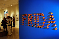 Exposición de Frida Kahlo en América Foto de archivo libre de regalías