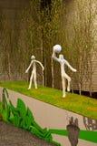 Exposición de Gante Floralies 2010, de la flor y de la planta Imagenes de archivo