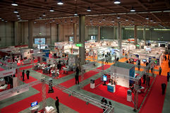 Exposición de Inprinting - Milano, Italia Fotos de archivo