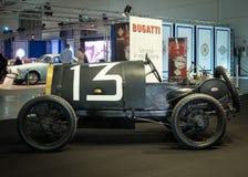 Exposición de la antigüedad y de los coches de deportes Fotografía de archivo