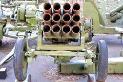 Exposición de la técnica militar Fotos de archivo