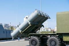 Exposición de la tecnología militar Imagen de archivo