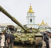 Exposición de las armas rusas en Kiev Fotografía de archivo libre de regalías