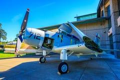 Exposición de los aviones Imagenes de archivo