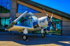 Exposición de los aviones Fotos de archivo