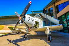 Exposición de los aviones Fotografía de archivo libre de regalías