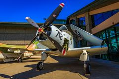 Exposición de los aviones Foto de archivo