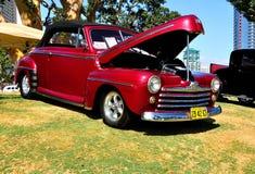 Exposición de los coches del colector Imagenes de archivo