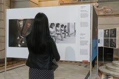 Exposición de World Press Photo en Budapest Imagen de archivo