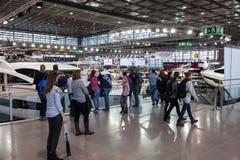 Exposición 2015 del barco en Duesseldorf, Alemania Imagen de archivo