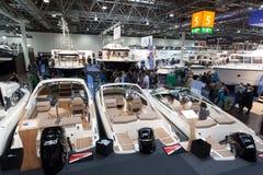 Exposición 2015 del barco en Duesseldorf, Alemania Fotografía de archivo