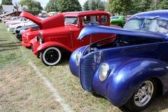 Exposición del coche de la vendimia Fotografía de archivo