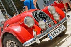 Exposición del coche en el Car Show de la obra clásica de Bucarest Imagen de archivo