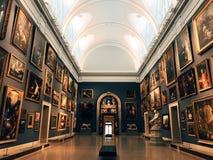 Exposición del museo de arte del ateneo de Wadsworth imagen de archivo