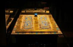 Exposición del tutankamon del faraón foto de archivo libre de regalías
