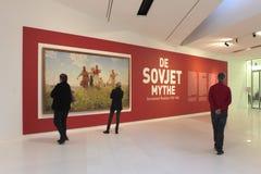 Exposición el mito soviético en el museo de Drents en Assen Fotos de archivo